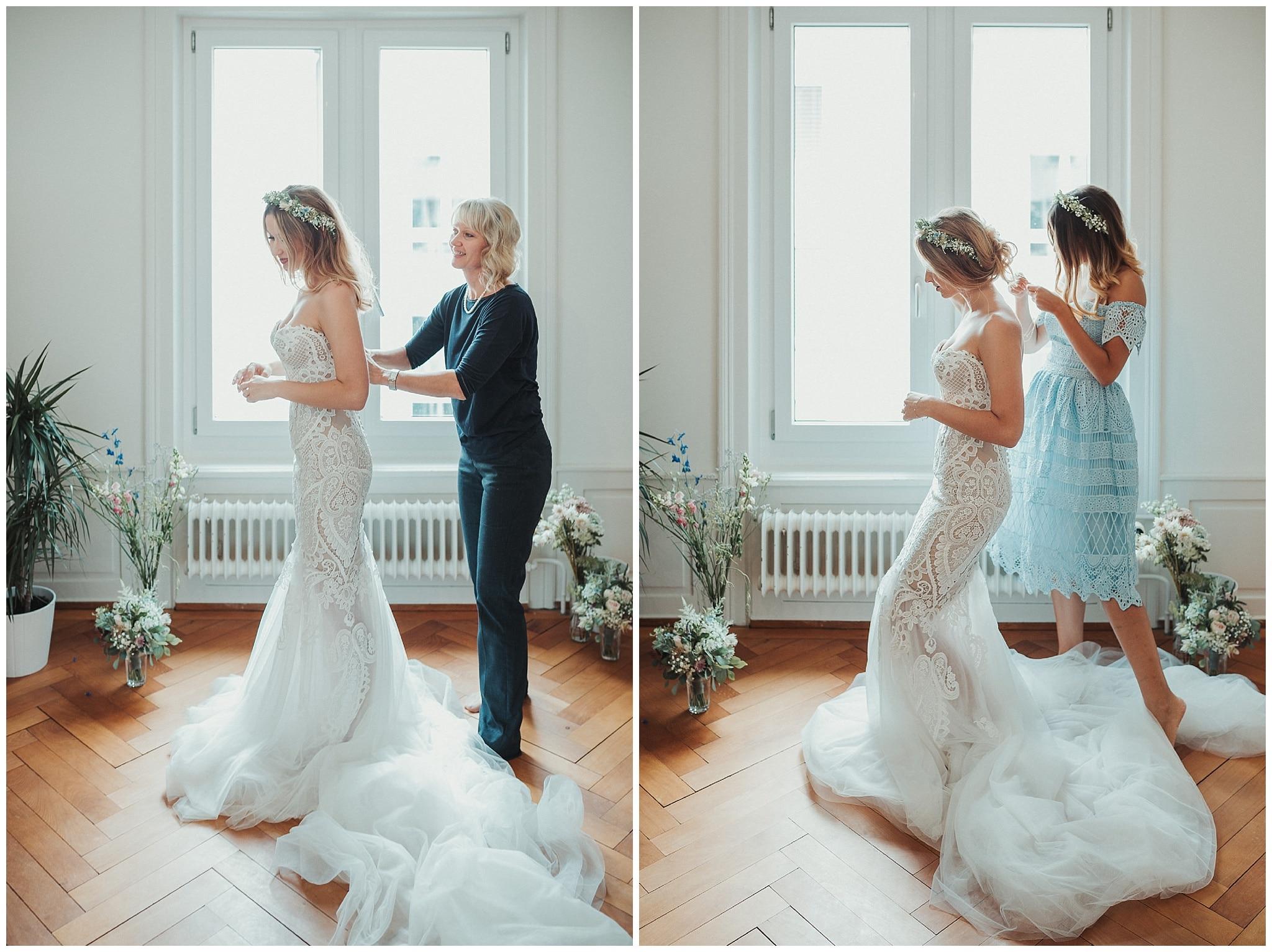 Hochzeitsvorbereitung - Chris Züger Fotografie