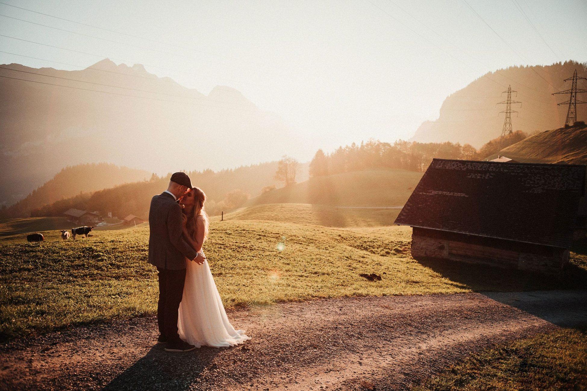 Hochzeit Hasliberg Wetterhorn - Hochzeitsfotograf Chris Züger